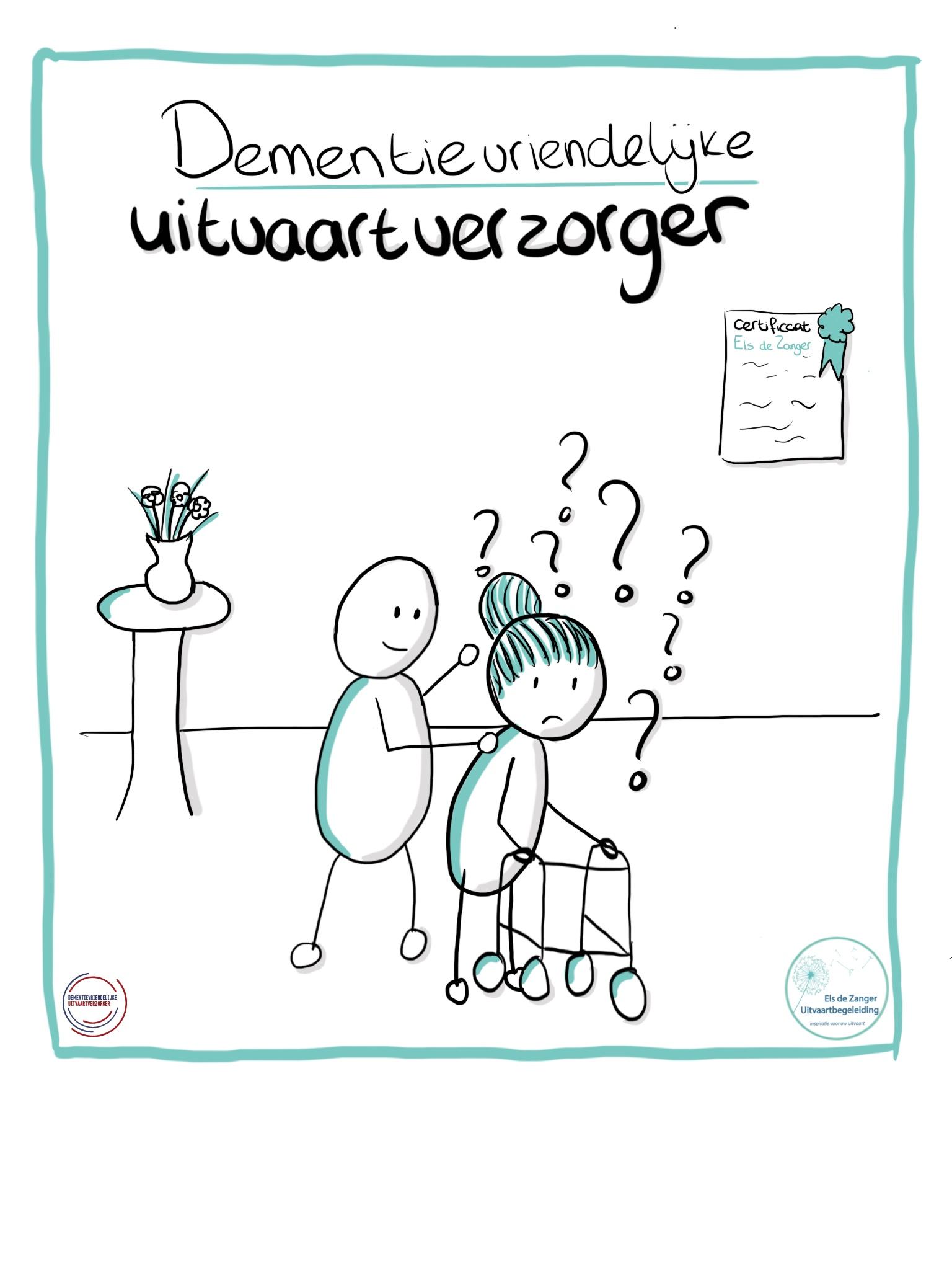 Els de Zanger Uitvaartbegeleiding, dementie vriendelijk.